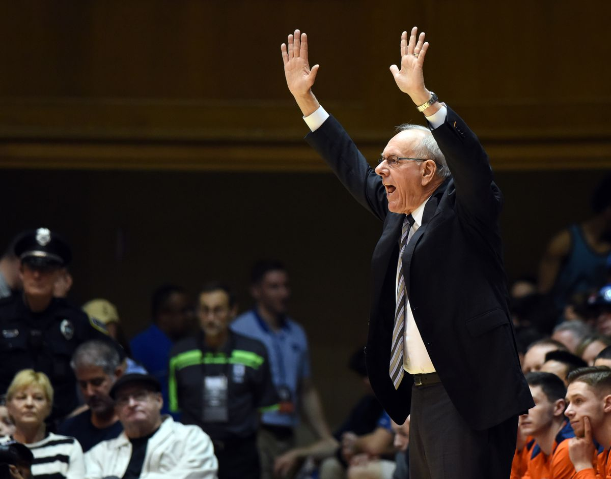 NCAA Basketball: Syracuse at Duke