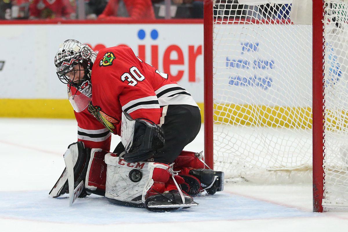 NHL: New York Islanders at Chicago Blackhawks