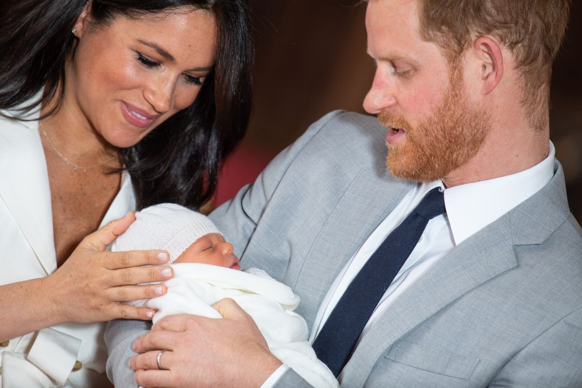 royal baby archie will he be a fashion icon like mom meghan markle vox royal baby archie will he be a fashion