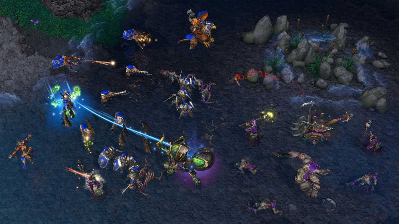 Warcraft 3 Reforged Review A Relic Ruined By Upgrades Polygon