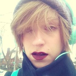 It is SO COLD OUT.  I can feel my skin turning to ice flakes. The only thing making me feel better during my mile walk to the subway (yup) is this lipstick by <b>Illamasqua</b> called Growl. It's a matte-finish mahogany and I want to marry it.
