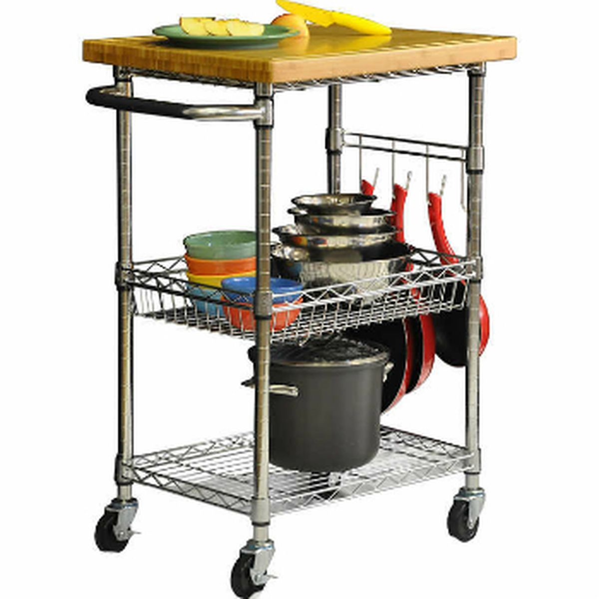 Crosley Roots Rack Industrial Kitchen Cart: 10 Ikea Essentials And Their Best Alternatives