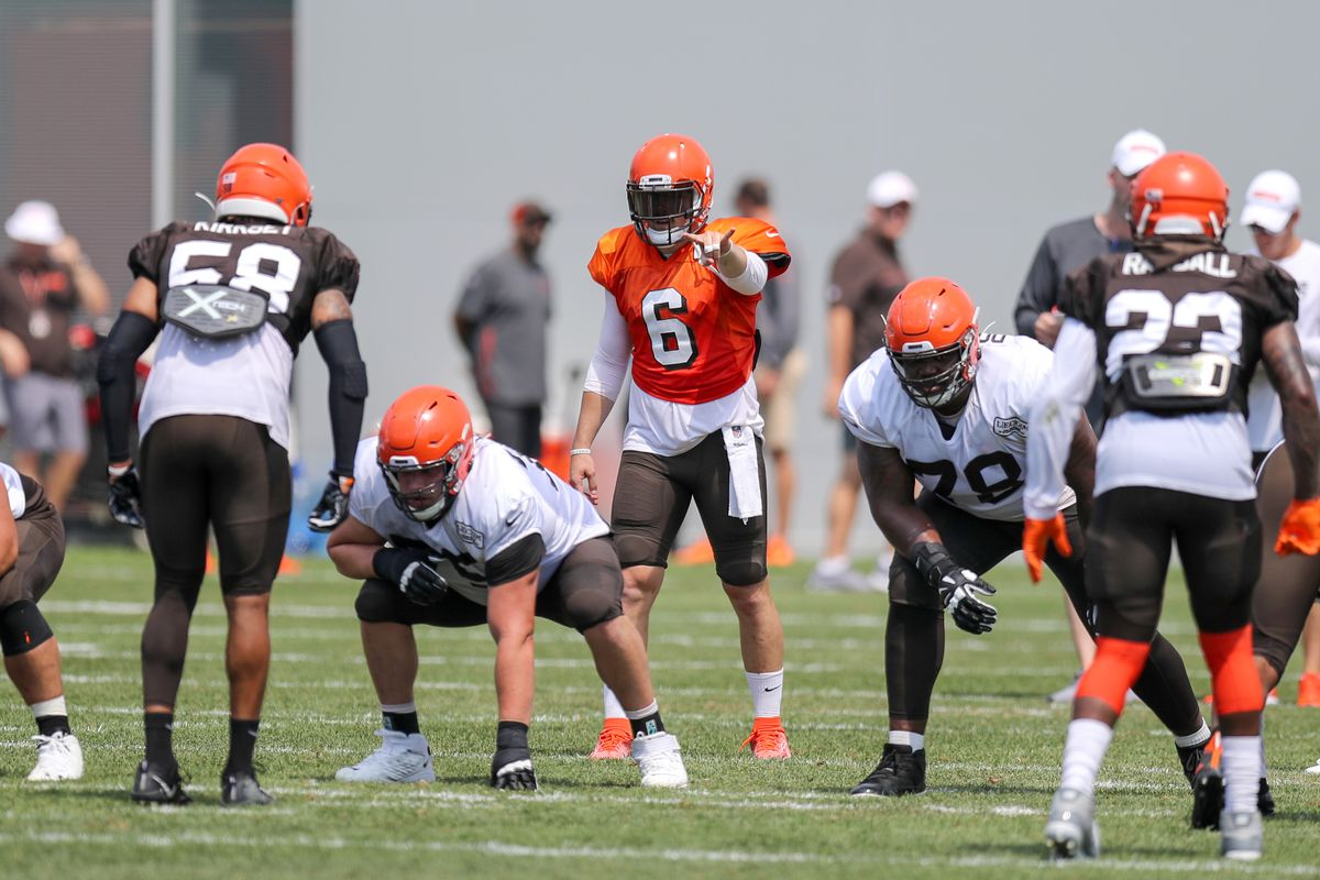 ae29602c Cleveland Browns Training Camp Recap: Day 7 - The Odell Fade - Dawgs ...
