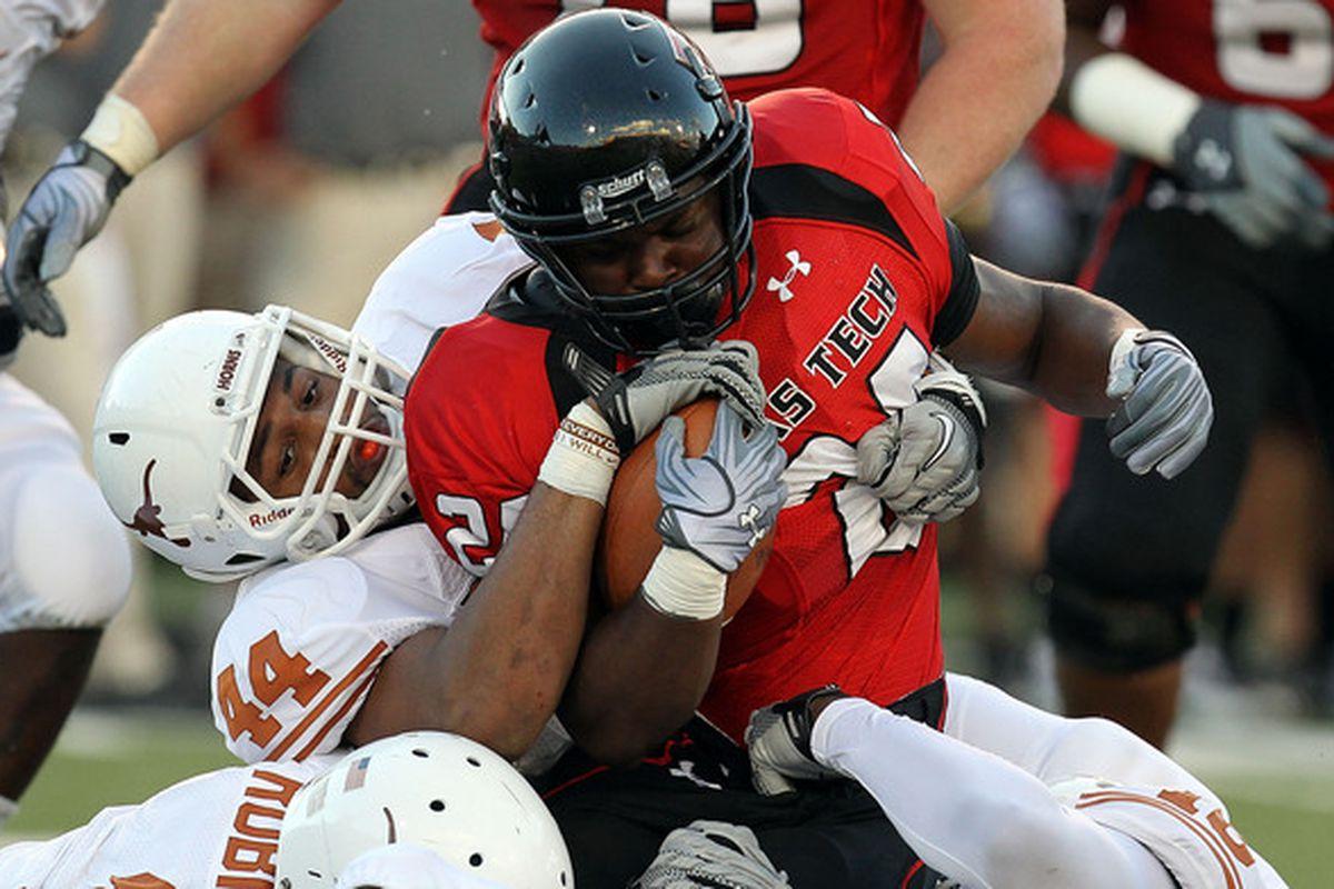 <em>Texas Tech's running game needs a hug. </em>