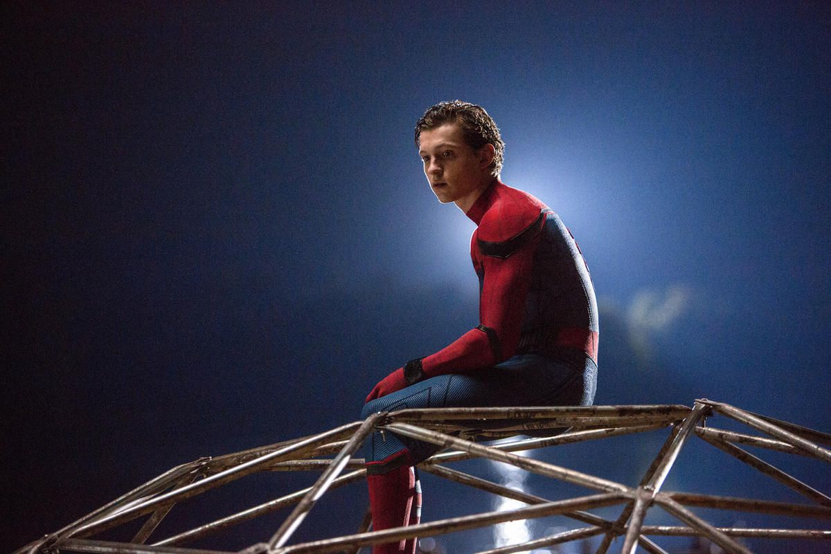 """Spider-Man in """"Spider-Man: Homecoming."""""""