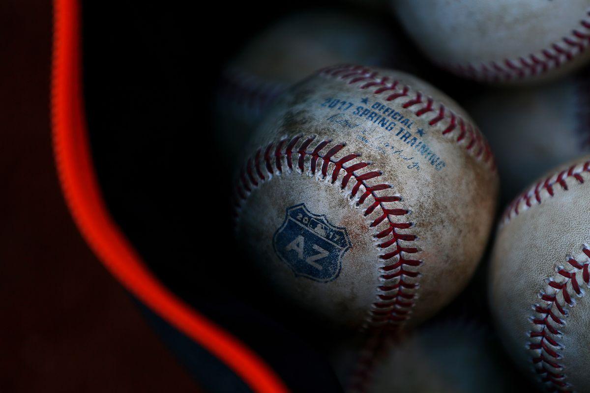 MLB: Spring Training-San Francisco Giants at Texas Rangers