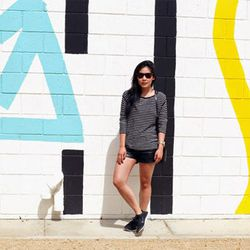 """SF blogger Lindsey Louie in her Nikes; photo via <a href=""""http://www.complacencykillsusall.com/"""">Complacency Kills</a>"""