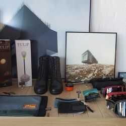 Just a few of the outdoor-ready items at the shop.