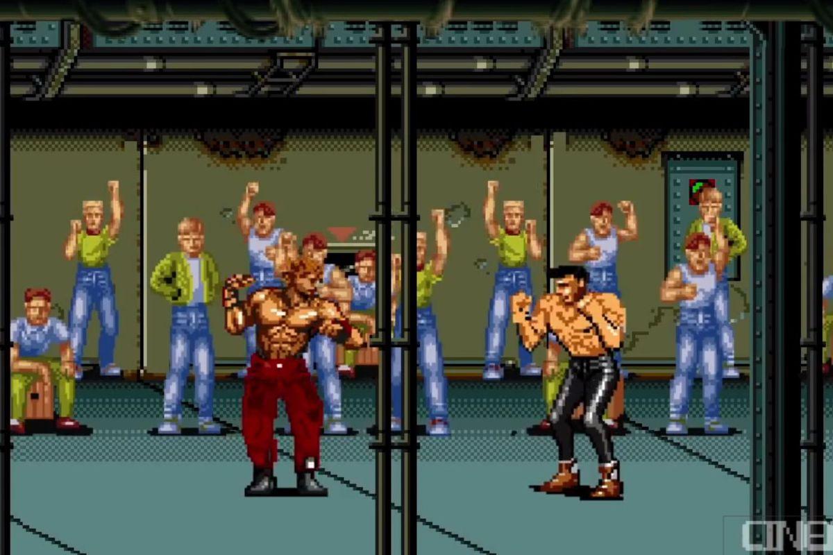 Watch Tyler Durden slug his way through a SNES-style 'Fight