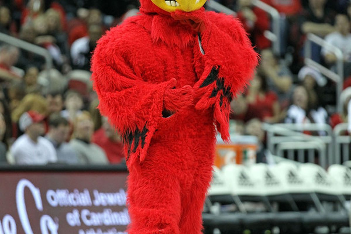 It's Louisville! It's Kansas! It's...a future Big 12 conference game? (Photo by Andy Lyons/Getty Images)