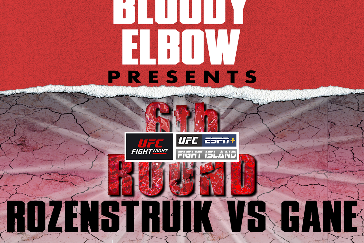 6TH RD, 6th Round Post-Fight Show, UFC Vegas 20, UFC Vegas 20 Post Fight Show, Rozenstruik vs Gane Results & Reactions,