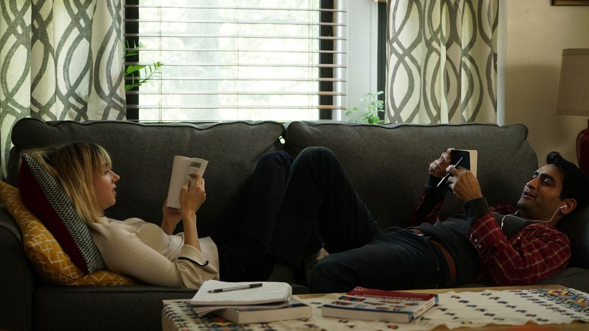 Zoe Kazan and Kumail Nanjiani appear inThe Big Sickby Michael Showalter, an official selection of the Premieres program at the 2017 Sundance Film Festival.