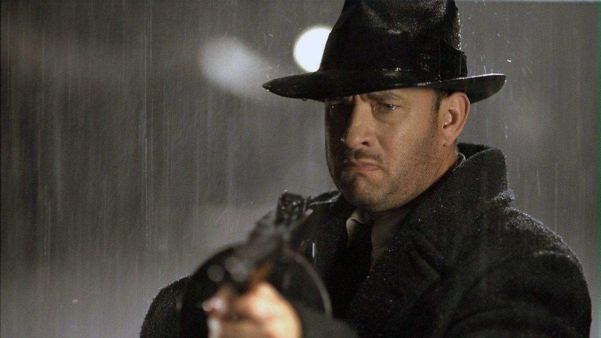 Tom Hanks as mob enforcer Michael Sullivan, Sr. in Road to Perdition