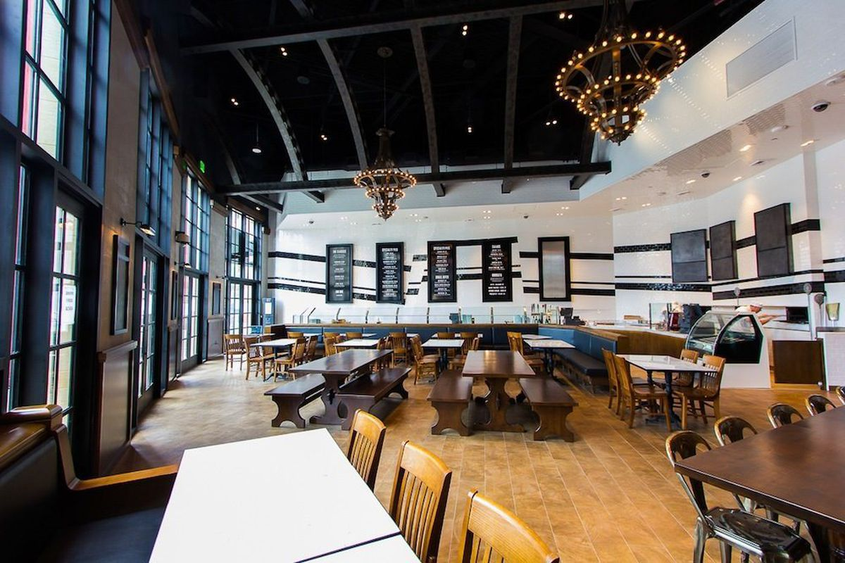 800 Degrees Pizzeria Finds Home At New York New York Eater Vegas