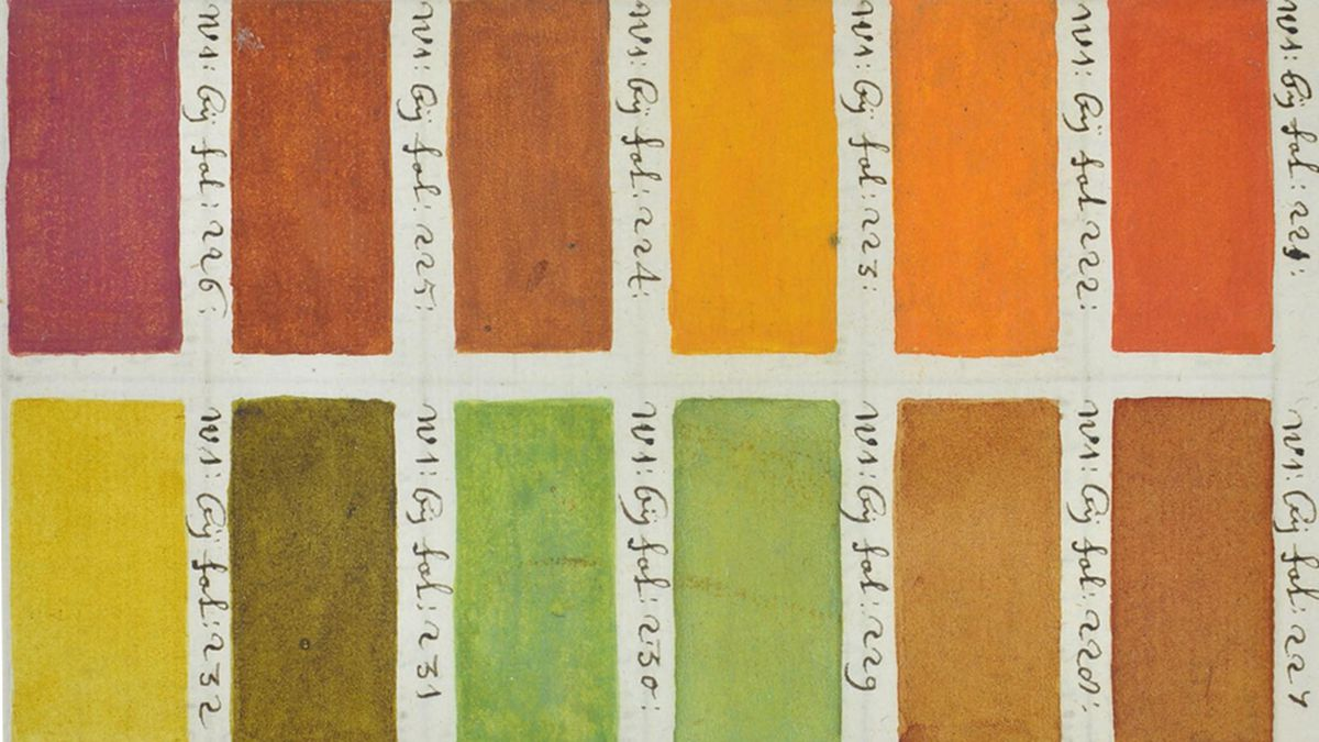Before Pantone, there was this hand-painted 17th century color guide