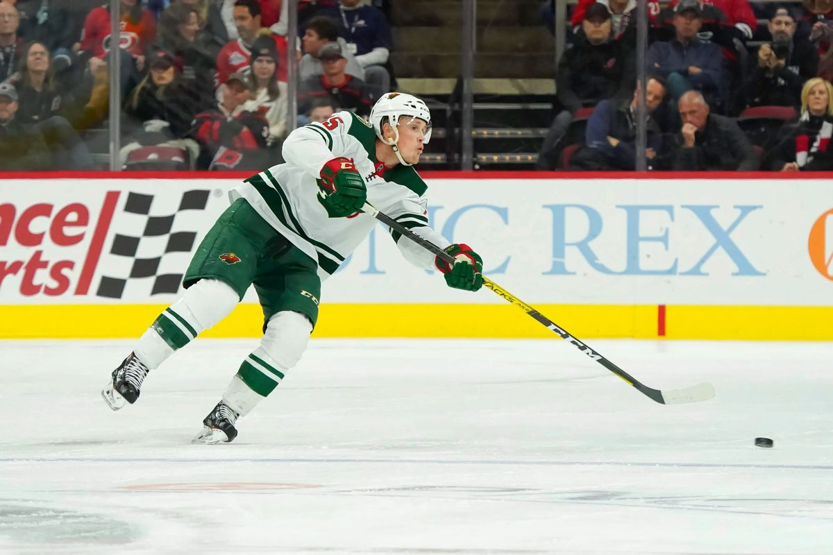 NHL: Minnesota Wild at Carolina Hurricanes