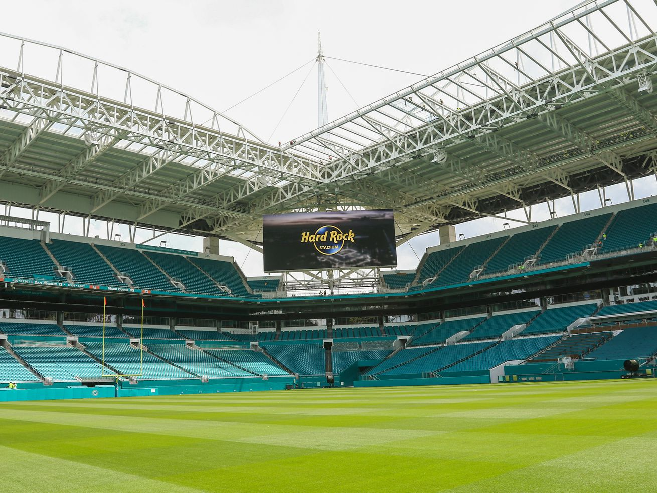 Miami's Hard Rock Stadium routinely sells out for international soccer matches.