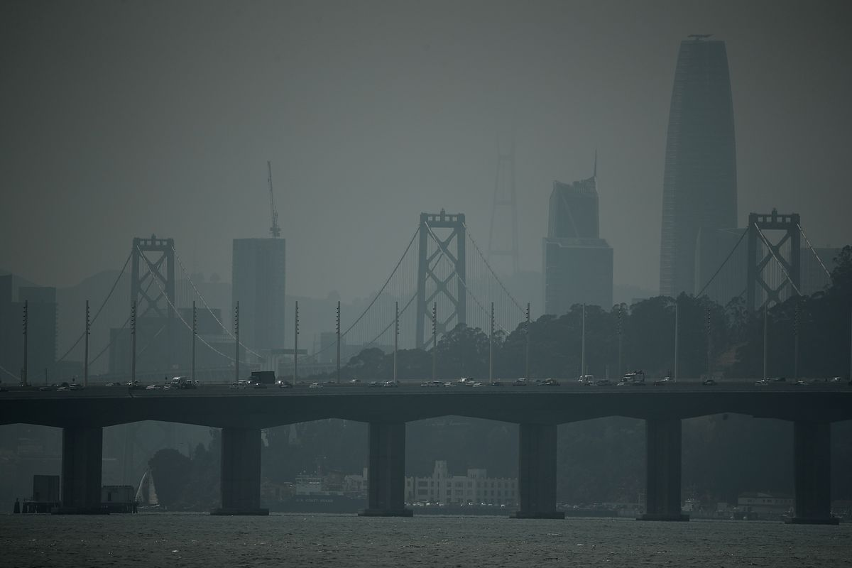 Smoke From Western Wildfires Triggers Air Quality Warnings In San Francisco