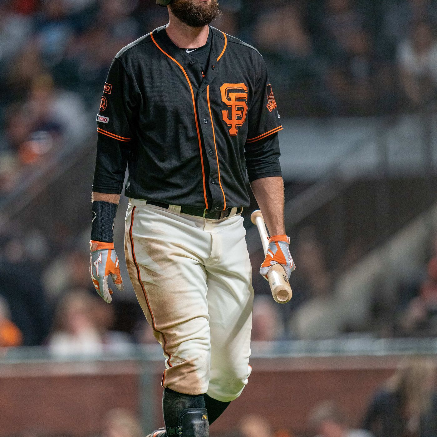 Brandon Belt has three things in common with Pablo Sandoval