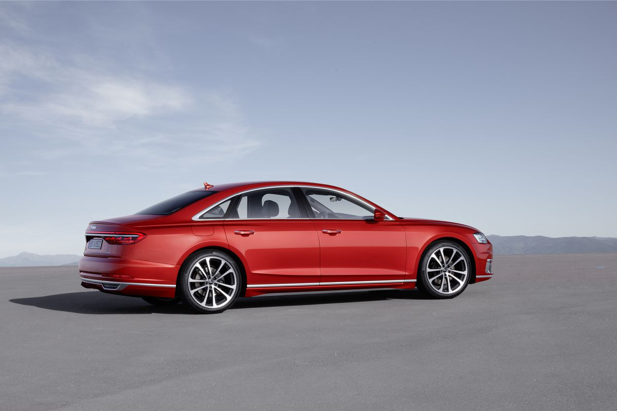 The New Audi A Luxury Sedan Is A Hightech Beast That Can Drive - Audi self parking