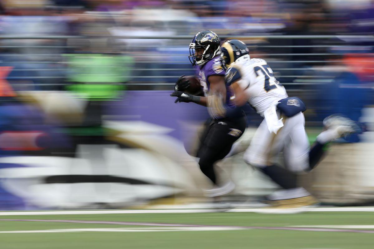 St Louis Rams v Baltimore Ravens