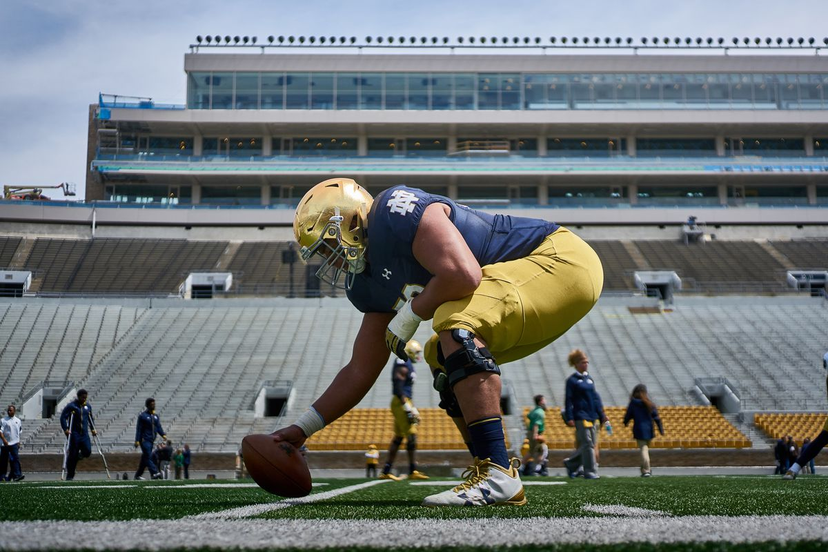 COLLEGE FOOTBALL: APR 22 Notre Dame Spring Game