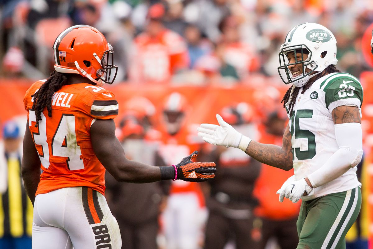 detailed look 07f1b e092f Jets reportedly signing RB Isaiah Crowell to 3-year deal ...