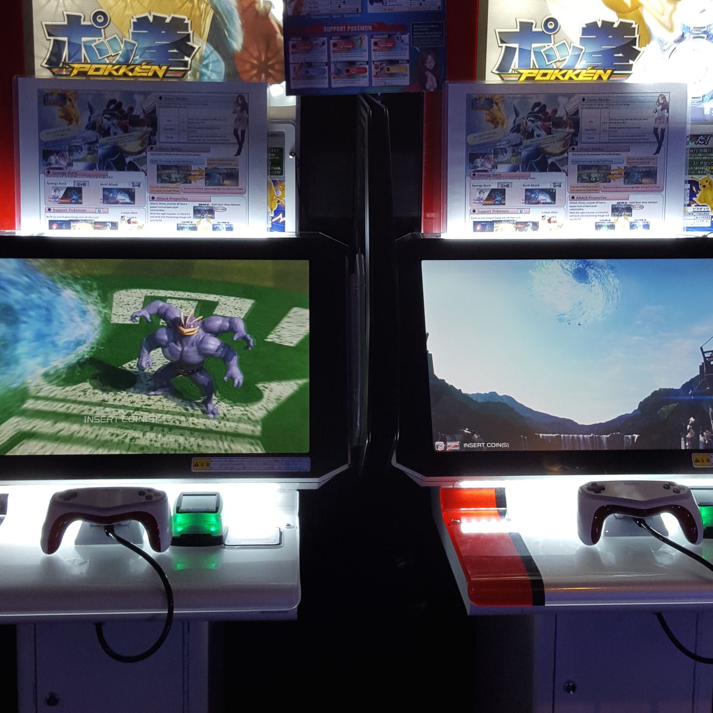 Pokémon meets Tekken in this new arcade machine you may