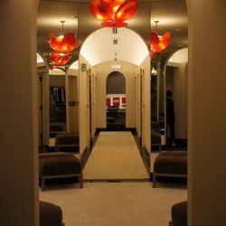 Dressing rooms hallway