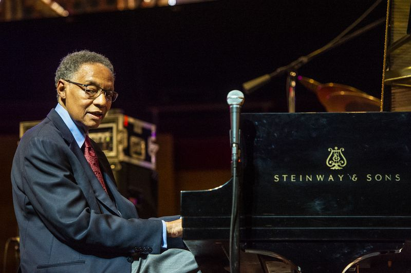 Ramsey Lewis performs during the 40th Annual Chicago Jazz Fest in 2018.