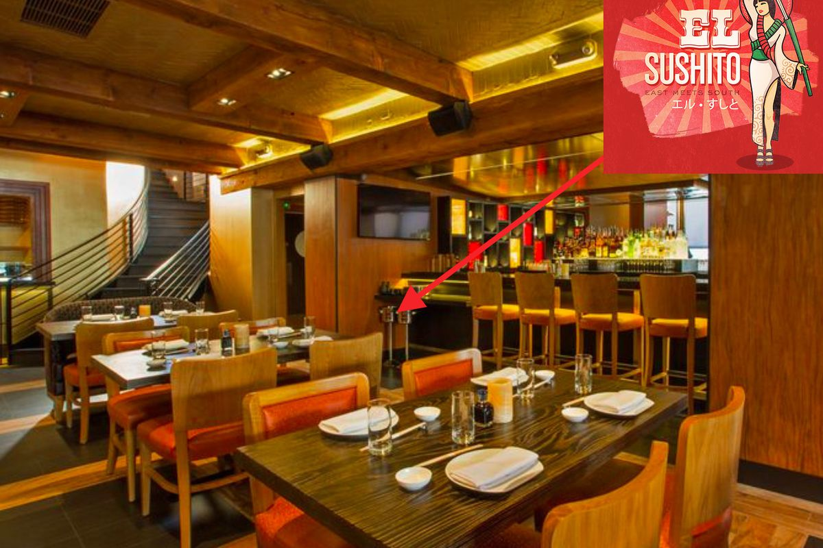 El Sushito takes over Yellowtail on the Sunset Strip in Los Angeles.
