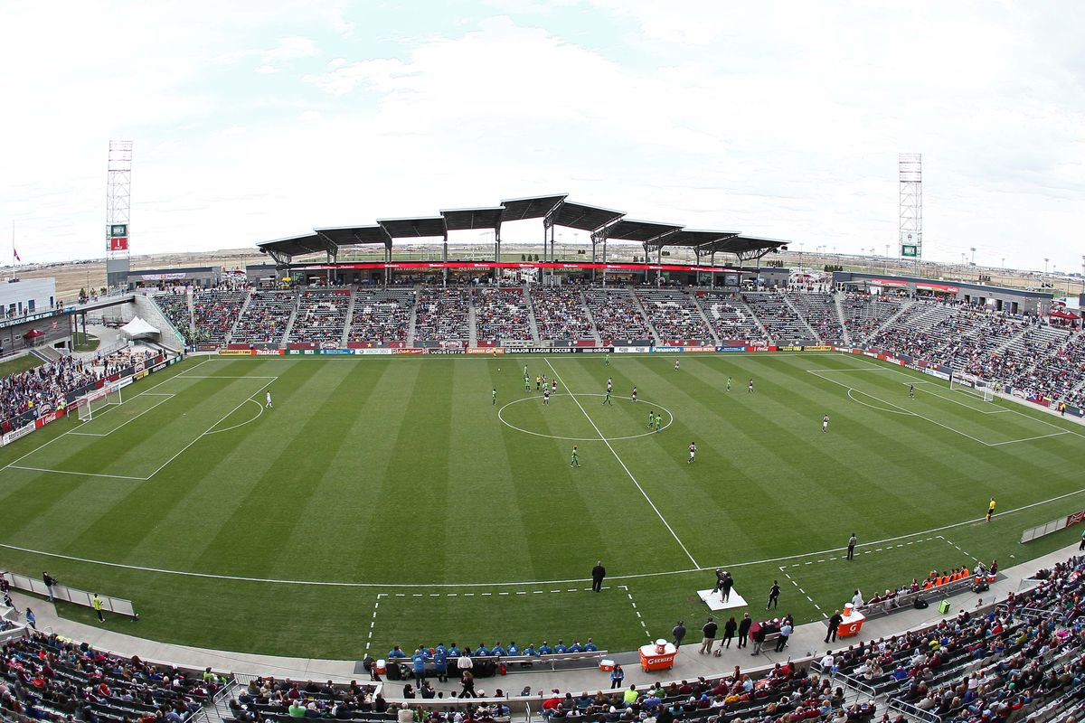 Dick's Sporting Goods Park - Home of the Rapids & Scene of Saturday's Match