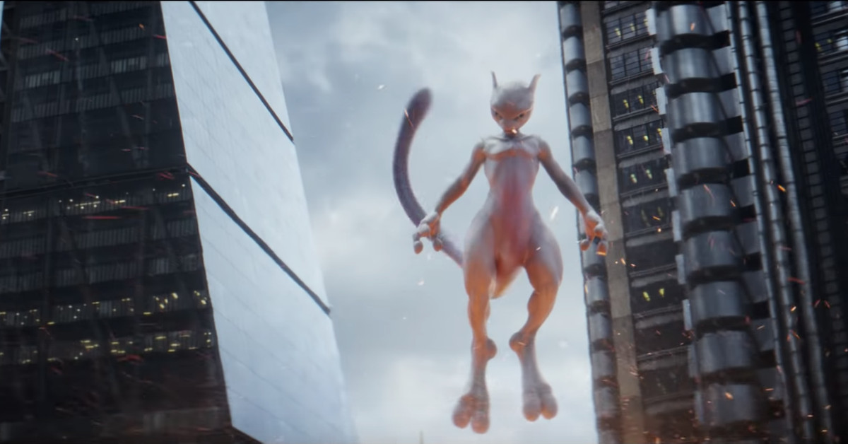 New Detective Pikachu Trailer Introduces A Menacing Mewtwo