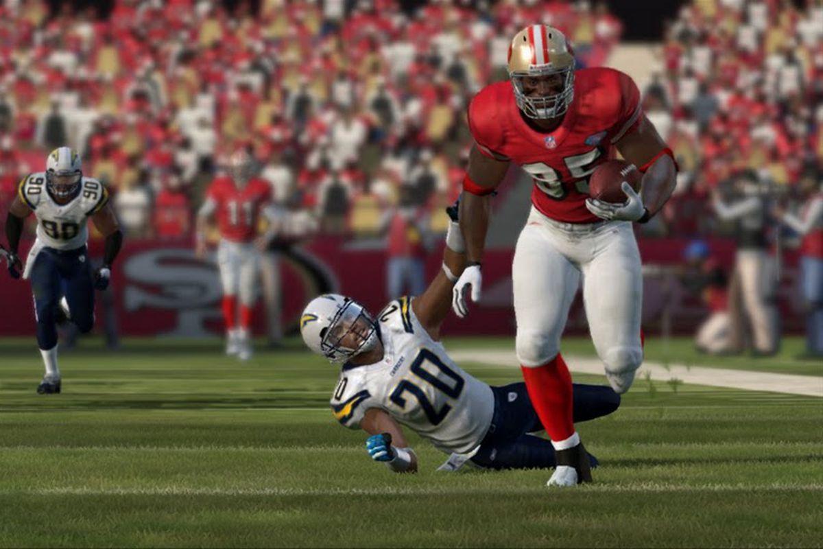 Madden NFL 12 Screenshot, Vernon Davis