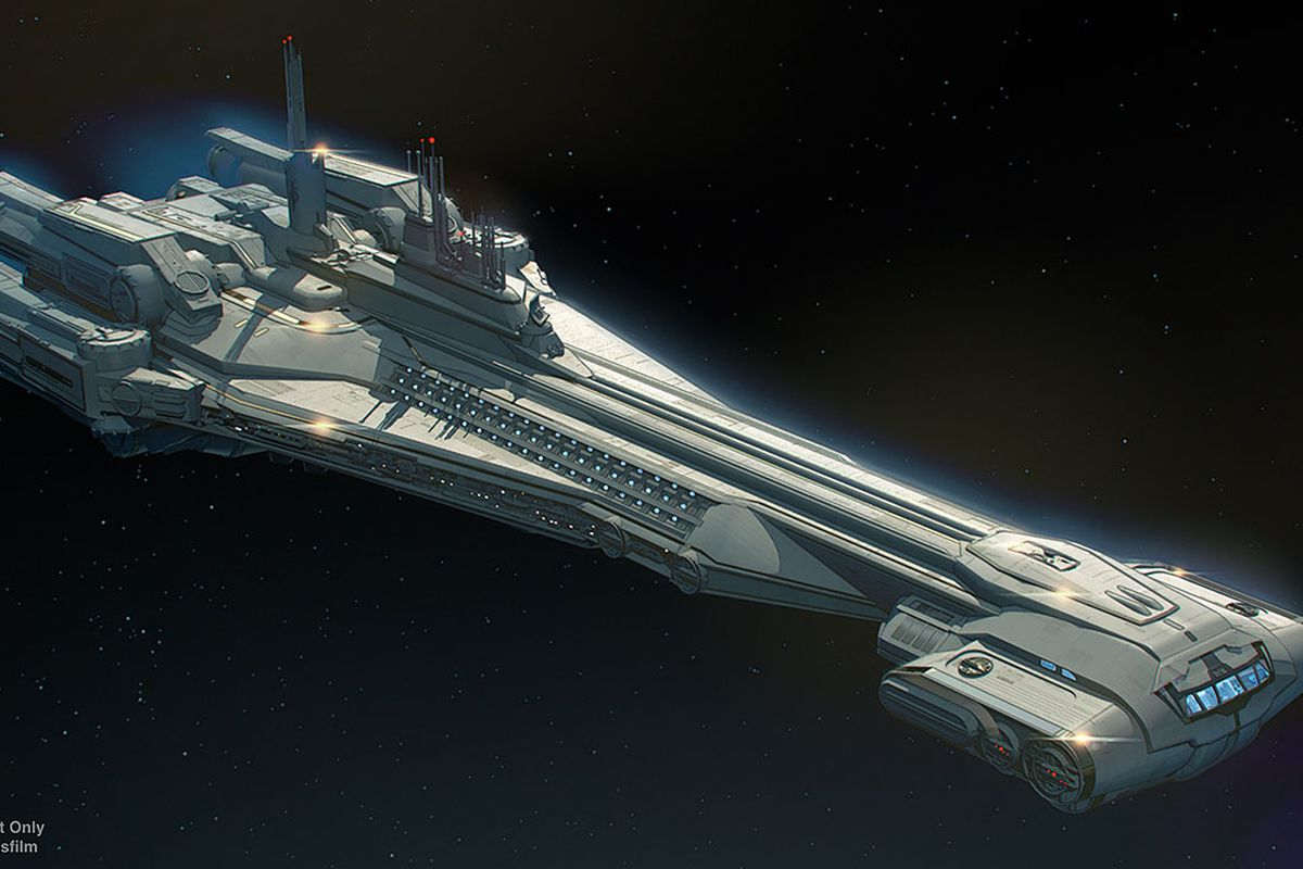 Disney shared a photo of the Star Wars: Galactic Starcruiser hotel.