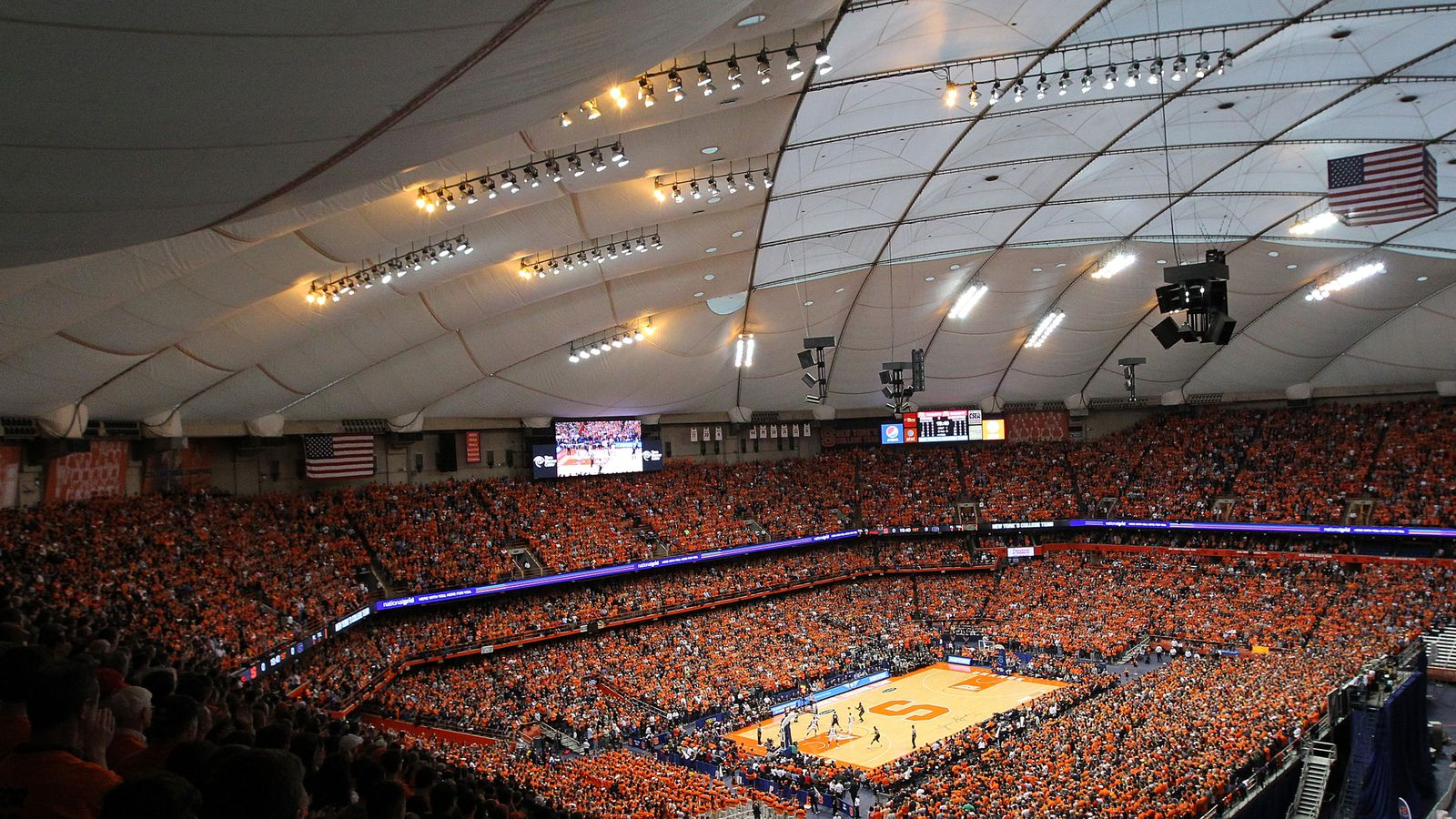 Chancellor Syverud Puts The Carrier Dome On Double Secret