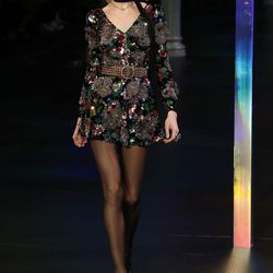 A look from Saint Laurent's spring 2015 show.