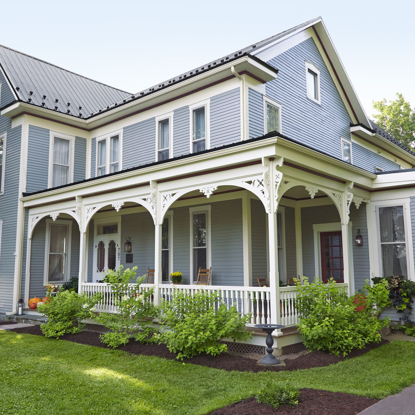 Rebuilt Wrap Around Porch For A Folk Victorian This Old House
