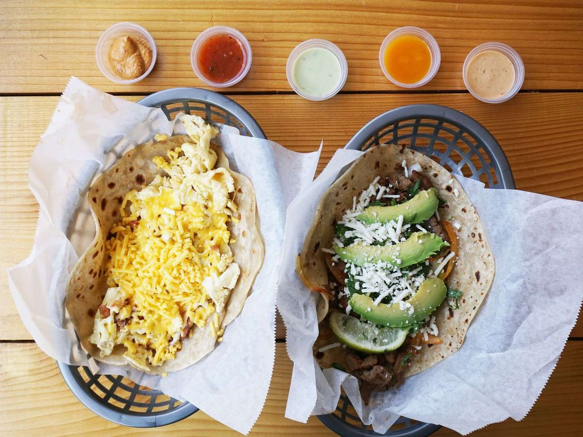 Tacos from Taco Joint