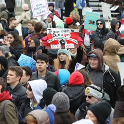 March for Our Lives, Chicago | Ashlee Rezin/Sun-Times