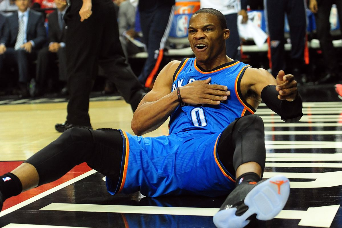 Russell Westbrook is wondering who is going to replace him?
