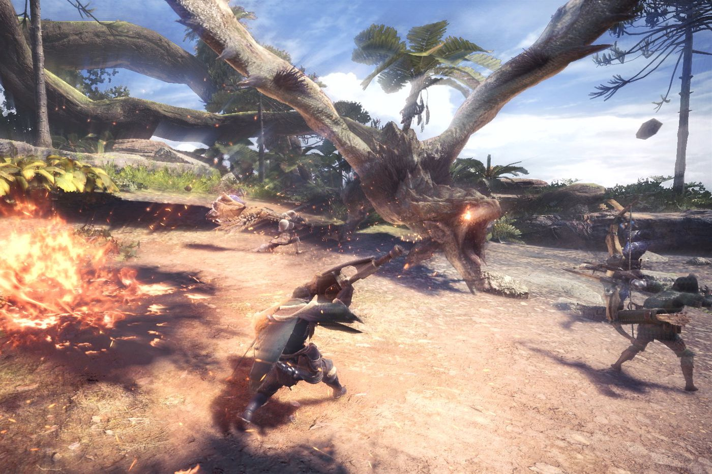 Monster Hunter World Guide How To Beat The Rathalos Polygon
