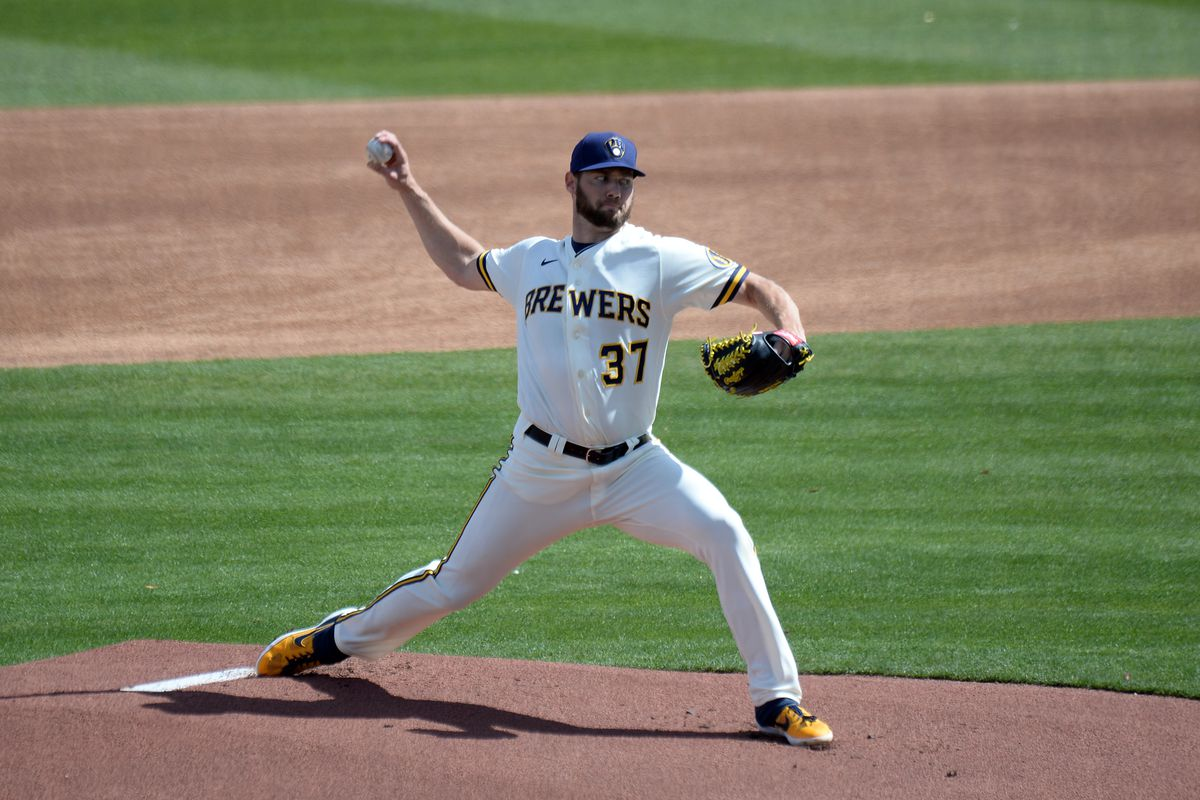 MLB: Cleveland Indians at Milwaukee Brewers