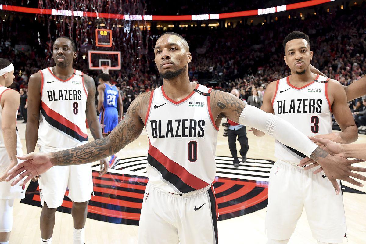 Oklahoma City Thunder v Portland Trail Blazers - Game One