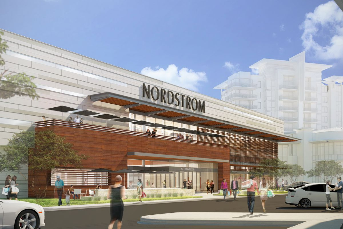 Rendering Of Nordstrom In Domain Northside Official