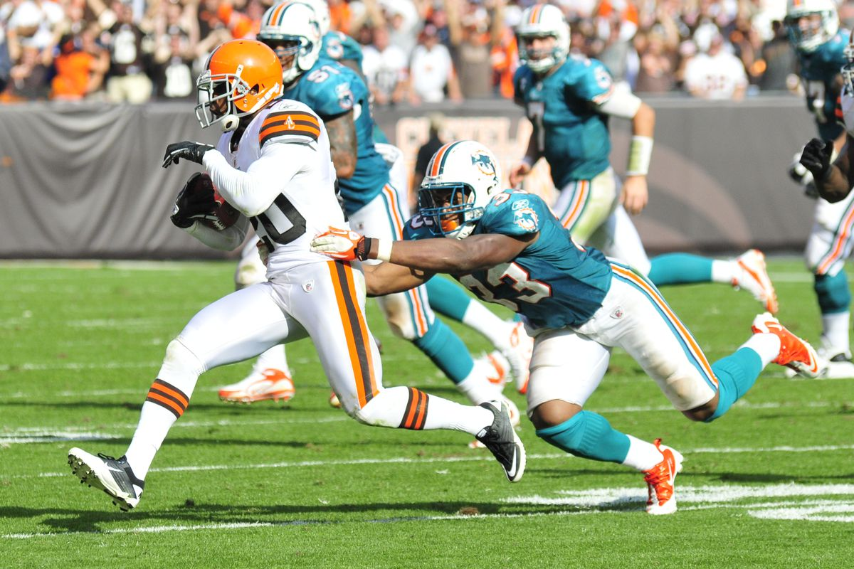 Cleveland Browns Vs. Miami Dolphins 9-25-2011