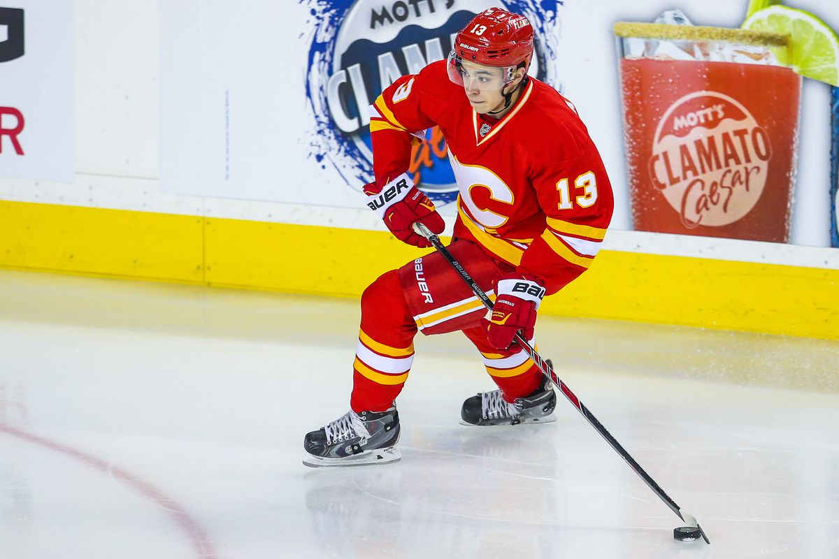 Retro Jerseys Return For The Flames Matchsticks And Gasoline
