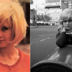 The models will wear wigs inspired by French singer Sylvie Vartan's famous blonde bob.