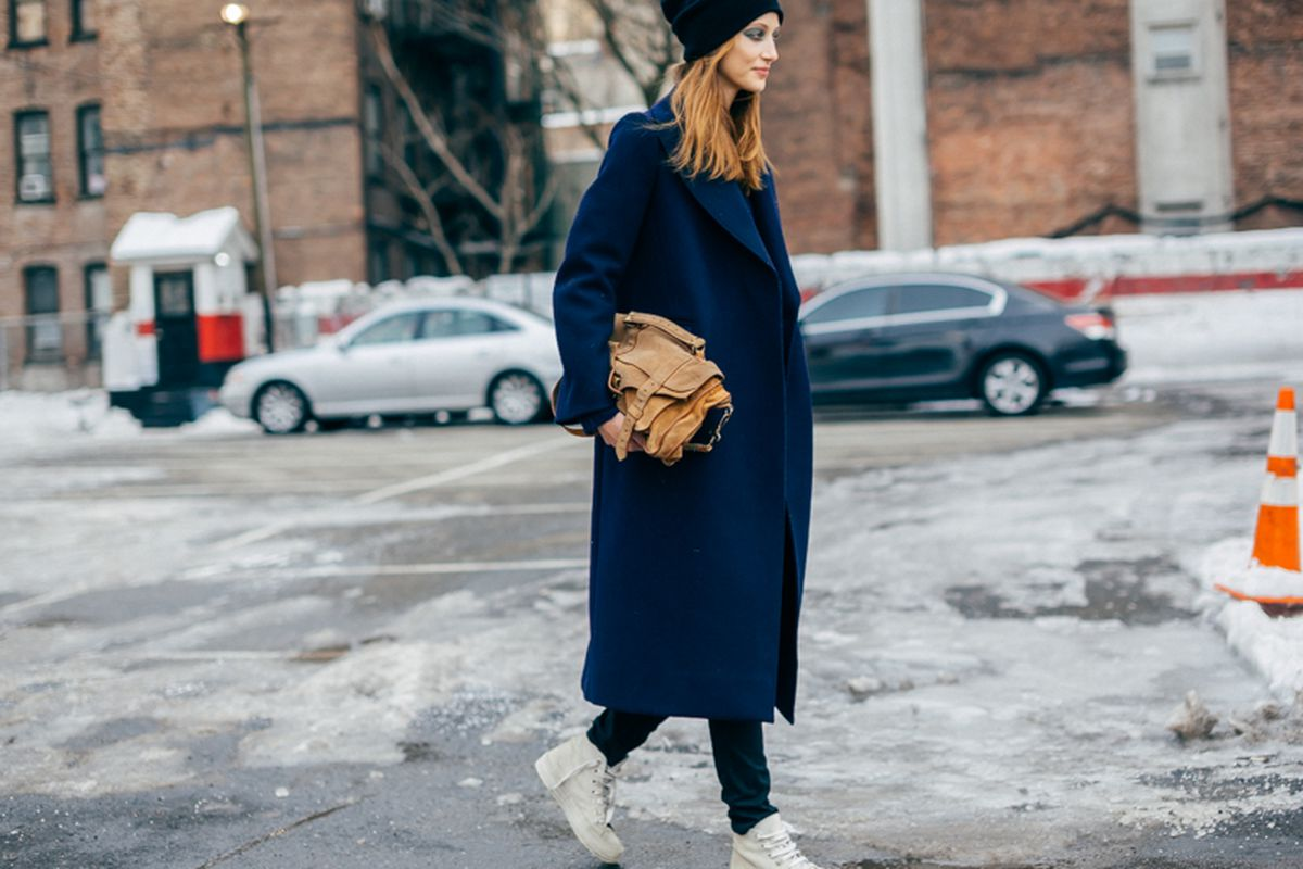 """Sneakers at NYFW in February. Photo by <a href=""""http://peladopelado.com/"""">Driely S</a>."""