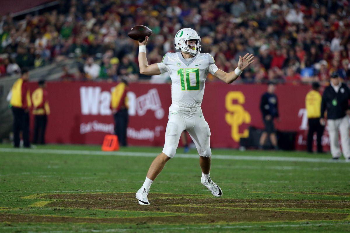 NCAA FOOTBALL: NOV 05 Oregon at USC